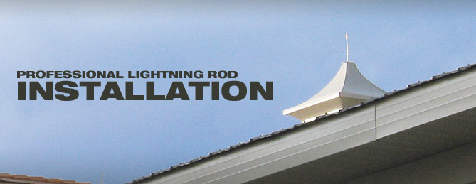 Lightning Rods Protection